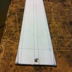 The aluminium fingerboard