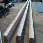 3 pieces of plywood 1m x 5cm x 22mm