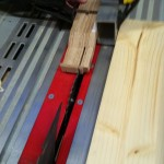 Cutting 8mm more from both sides nead the headstock. We'll attach the headstock here, later...